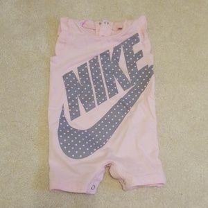 Adorable little Nike romper